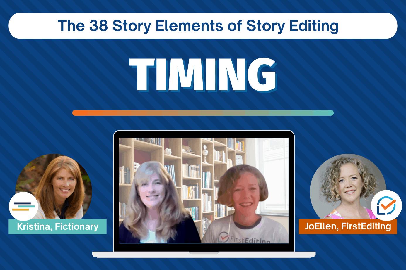 story writing improvement - timing